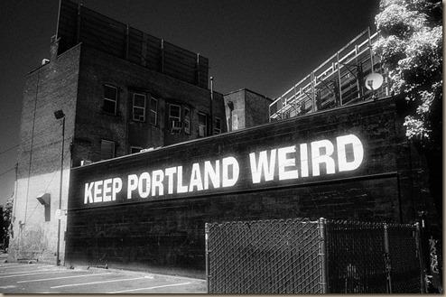 stay weird portland